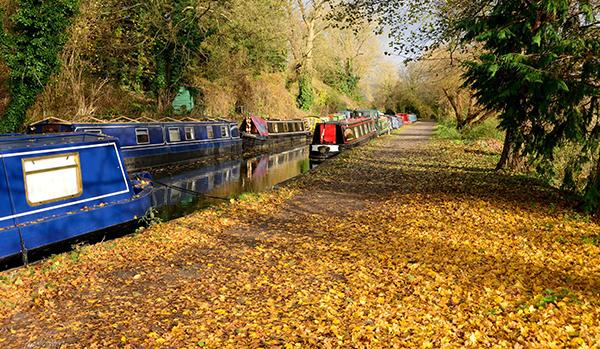Autumn on the inland waterways